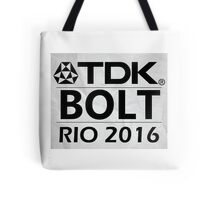 Usain Bolt Tote Bag