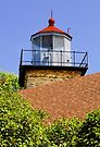 Eagle Bluff Lighthouse by Kenneth Keifer