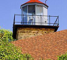 Eagle Bluff Lighthouse by Kenneth Keifer