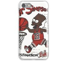"AIR SIMPSON BLACK BART ""YOU CAN'T TOUCH THIS"" iPhone Case/Skin"