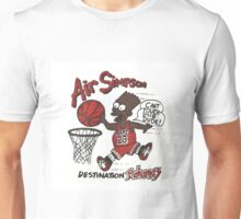 "AIR SIMPSON BLACK BART ""YOU CAN'T TOUCH THIS"" Unisex T-Shirt"