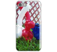 Playful Balloon Monkeys iPhone Case/Skin
