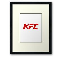KFC UFC Framed Print