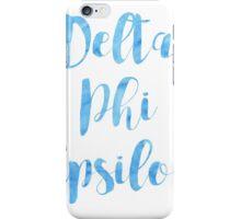 Delta Phi Epsilon iPhone Case/Skin