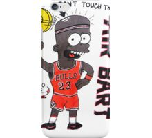 AIR BART CHICAGO BULLS iPhone Case/Skin