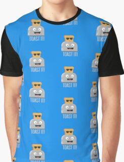 Toaster with cool bread   Graphic T-Shirt