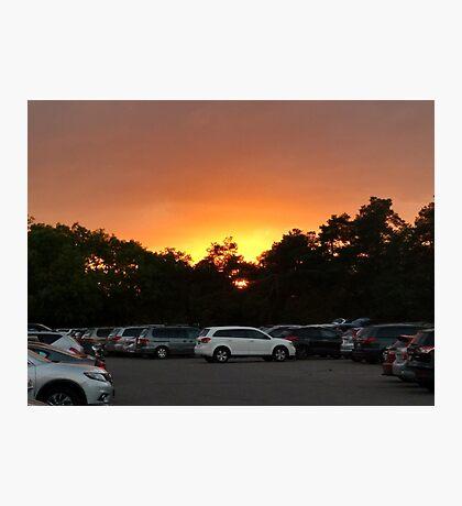deth by careened sunset I Photographic Print