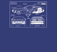 Back to the Future DeLorean blueprint Unisex T-Shirt