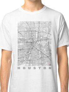 Houston Map Line Classic T-Shirt