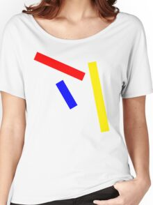 Abstract basic colors Women's Relaxed Fit T-Shirt
