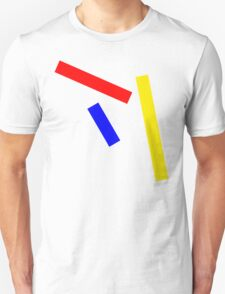 Abstract basic colors Unisex T-Shirt