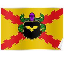 Holy Empire of Espania flag Poster