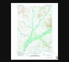USGS TOPO Map Alaska AK Taylor Mountains B-1 359850 1954 63360 Unisex T-Shirt