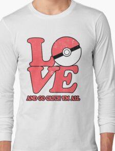 Poke-Love #2 Long Sleeve T-Shirt