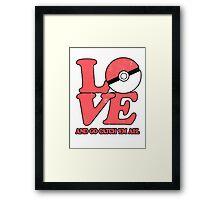 Poke-Love #2 Framed Print