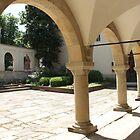 Armenian Cathedral Courtyard by Elena Skvortsova