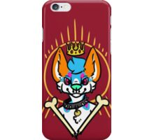 a King, a Holy Figure, or a Bad Dog iPhone Case/Skin