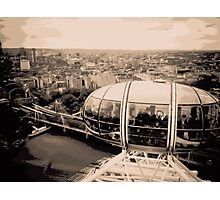 View from the London Eye Photographic Print