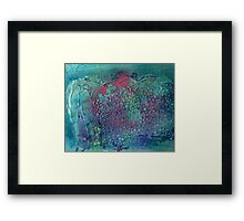Dragon Scale Framed Print