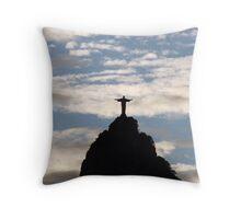 Christ the Redeemer, Rio de Janeiro Throw Pillow