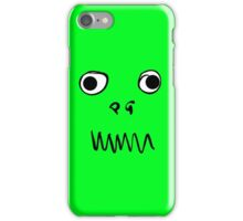 Monster Face iPhone Case/Skin
