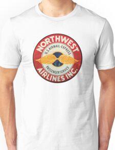 Northwest Airlines Vintage sign Unisex T-Shirt