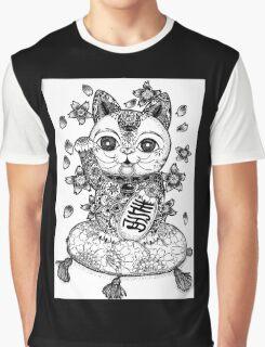 Manege Neko  Graphic T-Shirt