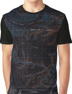 USGS TOPO Map Alaska AK Anchorage B-3 353963 1960 63360 Inverted Graphic T-Shirt