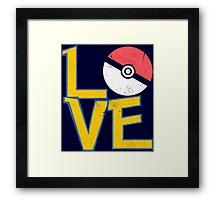 Poke-Love #3 Framed Print