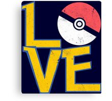 Poke-Love #3 Canvas Print