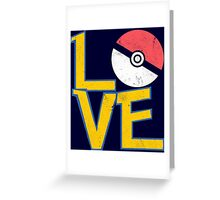 Poke-Love #3 Greeting Card