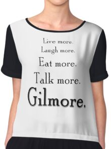 Gilmore Girls revival tagline Chiffon Top