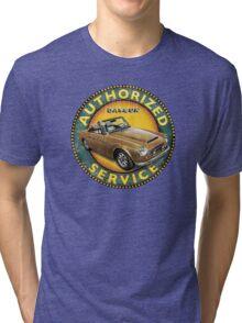 Datsun 2000 Fairlady Authorized service Tri-blend T-Shirt