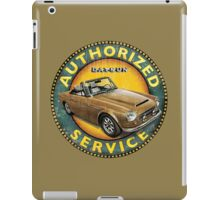 Datsun 2000 Fairlady Authorized service iPad Case/Skin