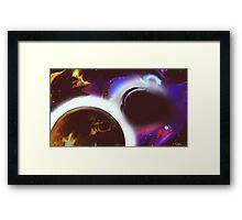 Whirly Space Framed Print