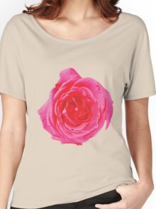 Beautiful big red rose Women's Relaxed Fit T-Shirt