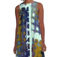 Nuts and Bolts A-Line Dress