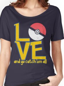 Poke-Love #3-b Women's Relaxed Fit T-Shirt