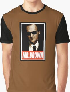 (MOVIES) Mr. Brown Graphic T-Shirt