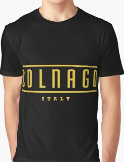 Colnago Racing Bicycles Italy Graphic T-Shirt