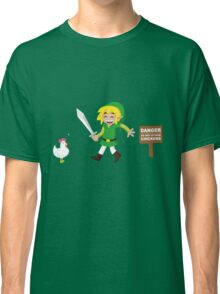 Link and the chickens... Classic T-Shirt