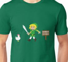 Link and the chickens... Unisex T-Shirt
