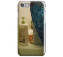 kitty peeking out of the tub iPhone Case/Skin