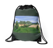 Mineral Springs Road, Hamilton ON.. looking over the valley Drawstring Bag