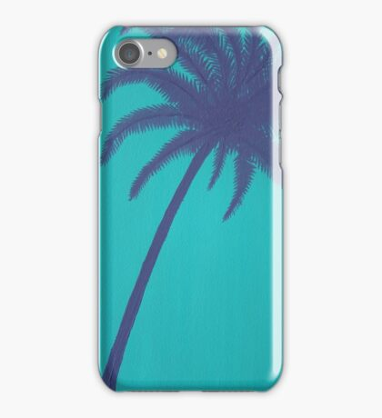 Purple Palm Tree iPhone Case/Skin