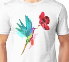 Polygonal Hummingbird Unisex T-Shirt