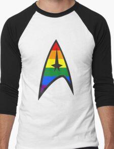Gay Star Trek Emblem Men's Baseball ¾ T-Shirt