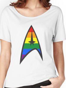 Gay Star Trek Emblem Women's Relaxed Fit T-Shirt