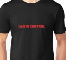 Mr. Robot - I am in control Unisex T-Shirt