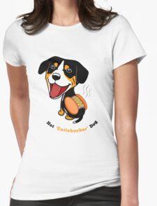 Hot Entlebucher Dog Womens Fitted T-Shirt